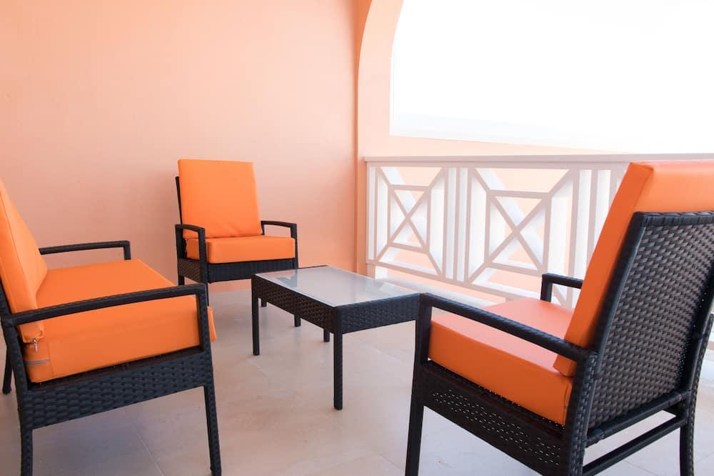 Kondo Mewah, 1 kamar tidur, non-smoking, pemandangan samudra - Balkon
