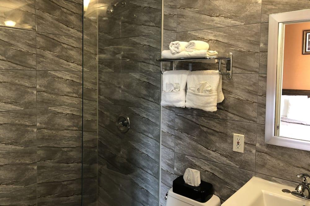 Habitación individual, 1 cama de matrimonio grande, no fumadores - Cuarto de baño