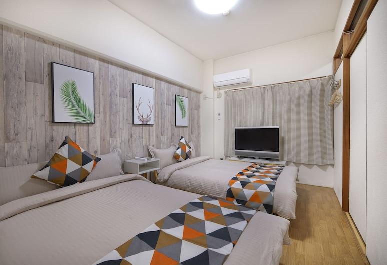 73BNB Hotel Apartment Ebisucho, 大阪市, アパートメント ベッド (複数台) (7), 部屋