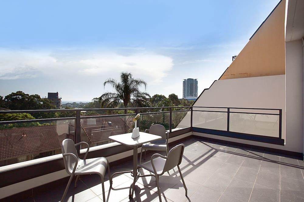 Апартаменти, 1 спальня - Балкон