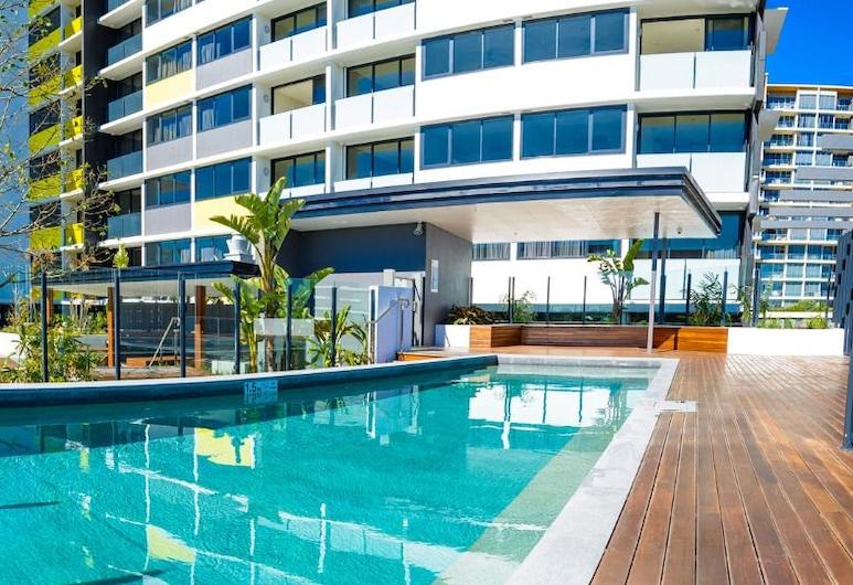 漢彌爾頓 1107 號飯店, 漢彌爾頓, 室外游泳池