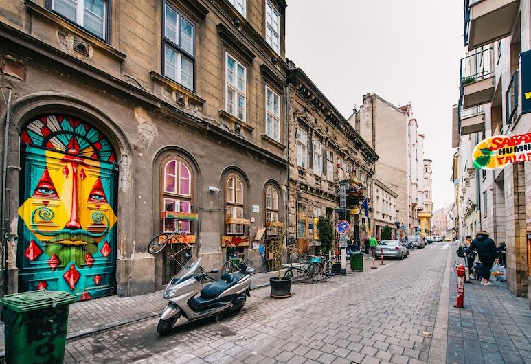 Oasis Apartments - Kazinczy I, Budapeszt, Dziedziniec