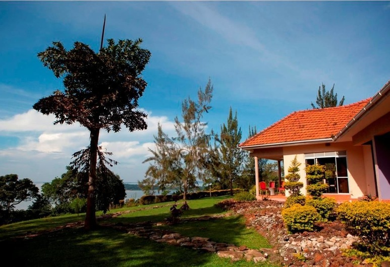 Ssese Habitat Resort, Bugala Island, Garden