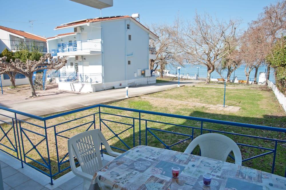 Departamento, 2 habitaciones, vista al mar, planta baja - Balcón