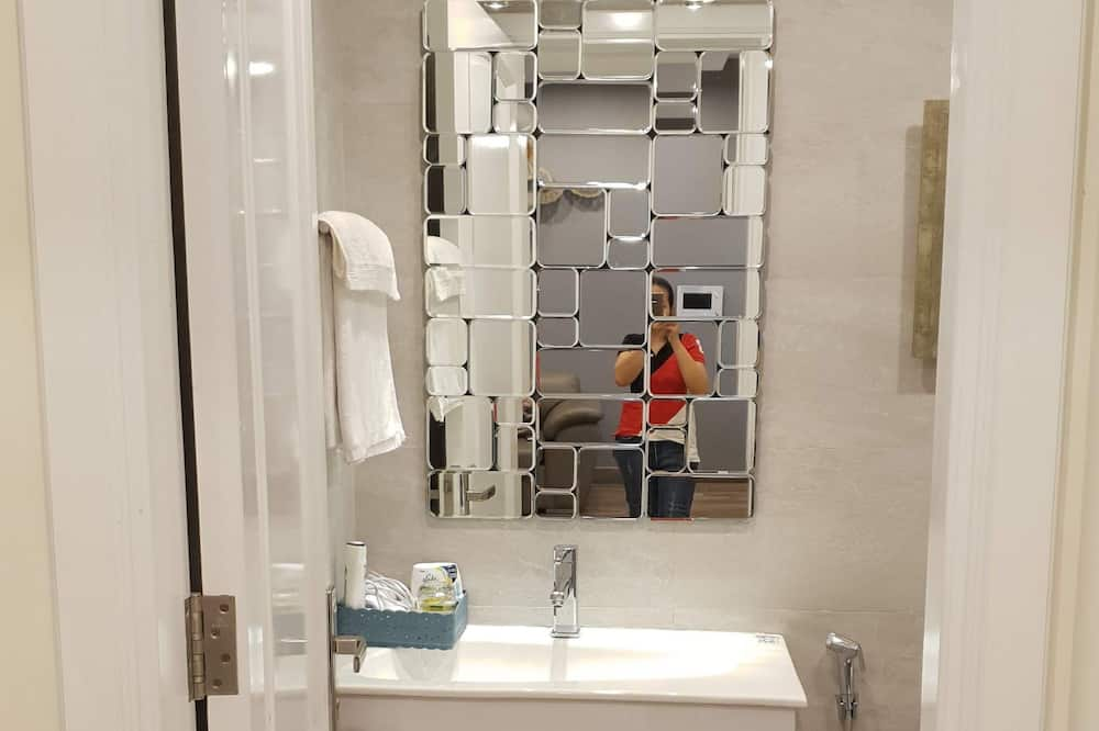 Apartment, 1 Schlafzimmer - Waschbecken im Bad