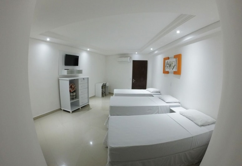 Hotel Paddock, Sao Paulo, Comfort Triple Room, 3 Twin Beds, Non Smoking, Guest Room