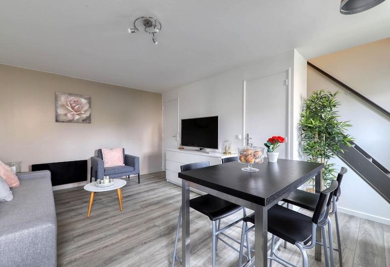 Les 3 Ormes, Magny-le-Hongre, Apartment, Living Area