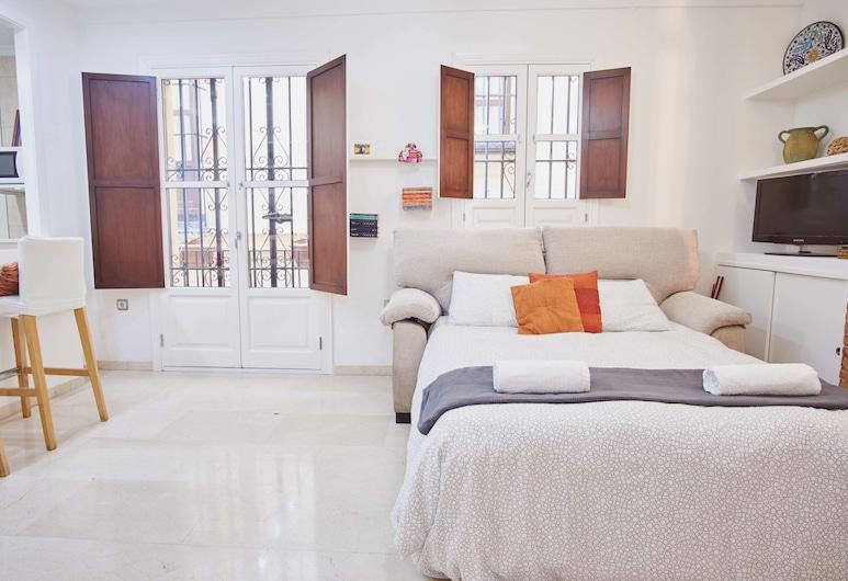 Apartamento Santa Cruz Pearl, Seville, Apartment, 1 Bedroom, Living Area
