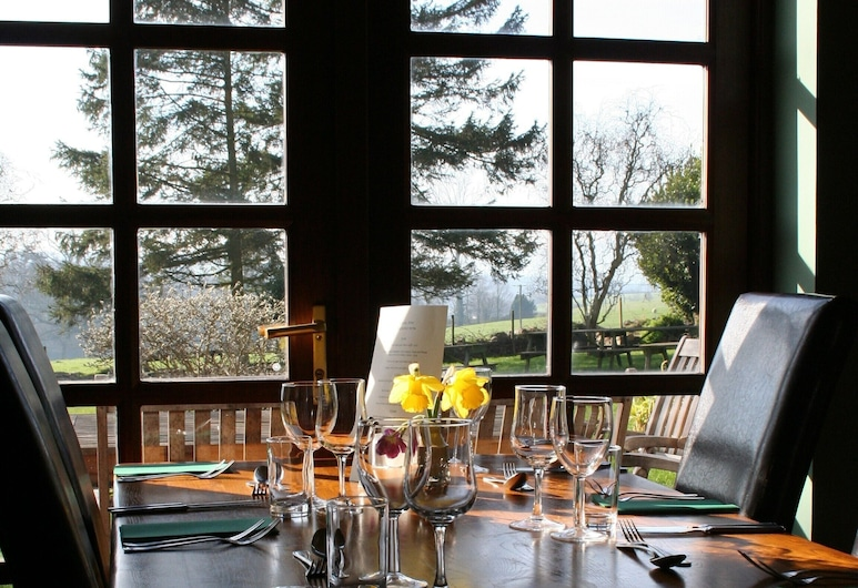The Carew Arms, Taunton, Standard-Doppelzimmer, eigenes Bad, Gartenblick (Room 6), Restaurant