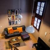 デュープレックス 2 ベッドルーム テラス - リビング ルーム
