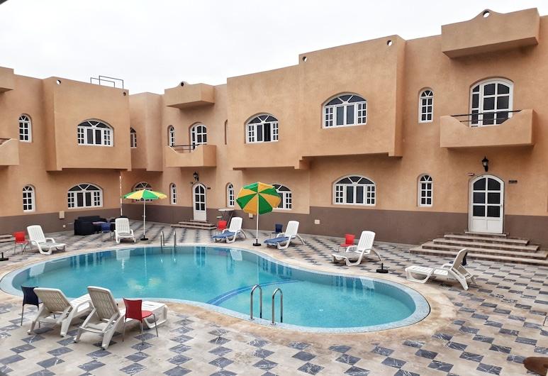 Amwaj Hotel, El Jadida, Lauko baseinas