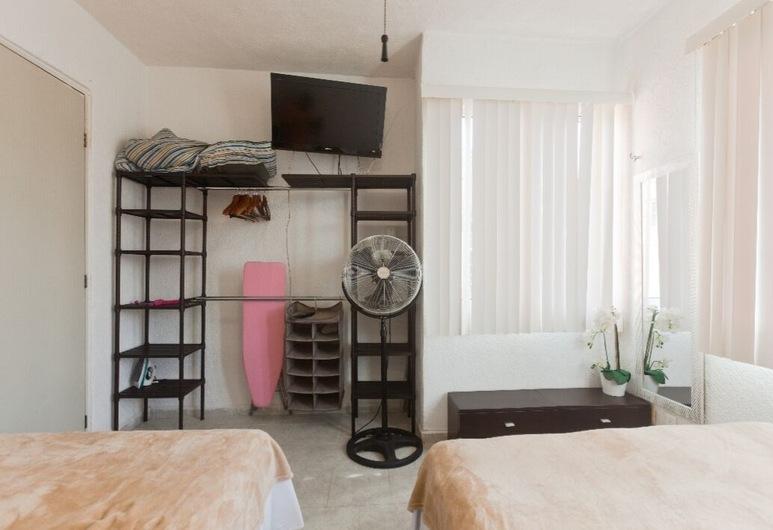 Casa Golondrina con Aire Acondicionado WIFI , Playa del Carmen, Herbergi