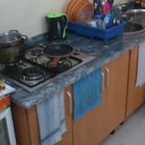 Shared Dormitory (4 beds) - Shared kitchen