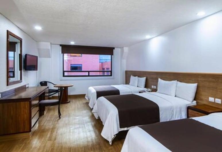 Hotel San Lucas, Mexiko-Stadt, Familien-Dreibettzimmer, Zimmer