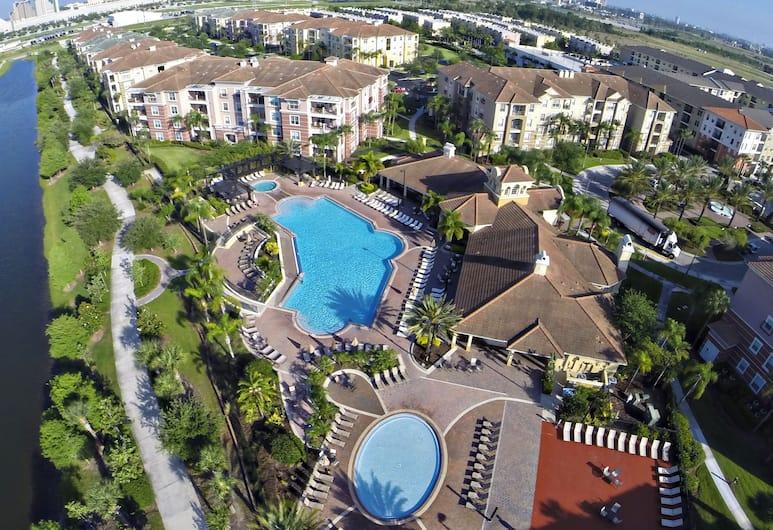 舒適假日公寓 266643 號飯店, 奧蘭多, 公寓客房, 4 間臥室, 鳥瞰
