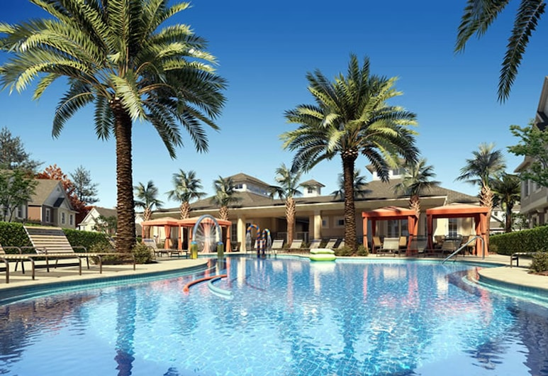 Magical Season House Summerville SU7528, Kissimmee, Byt, 4 spálne, Vonkajší bazén