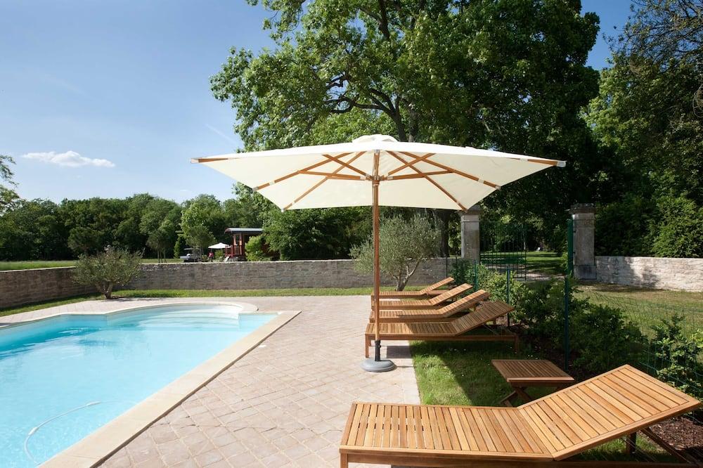Habitación doble, baño privado - Alberca