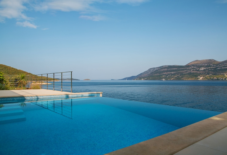 Villa Wave & Wind House, Korcula, Infinity Pool