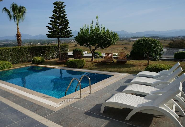 Moderne Freistehende Villa, Side, Pool