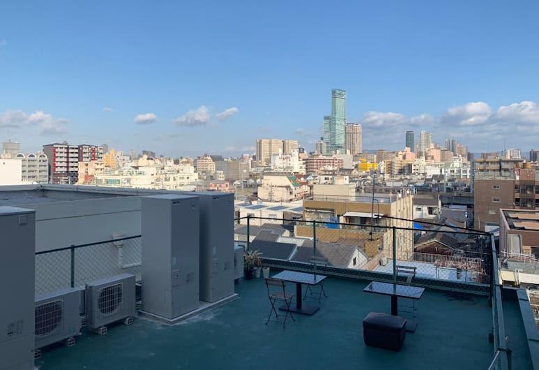 花園町站地鐵酒店, 大阪, 家庭客房 (HM-301A), 陽台