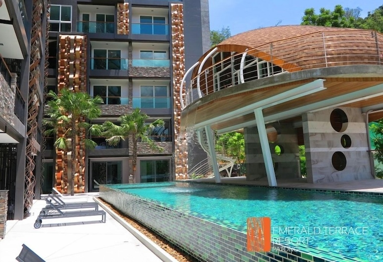 Emerald Terrace Apartment Patong By OHM, Patong, Havuz