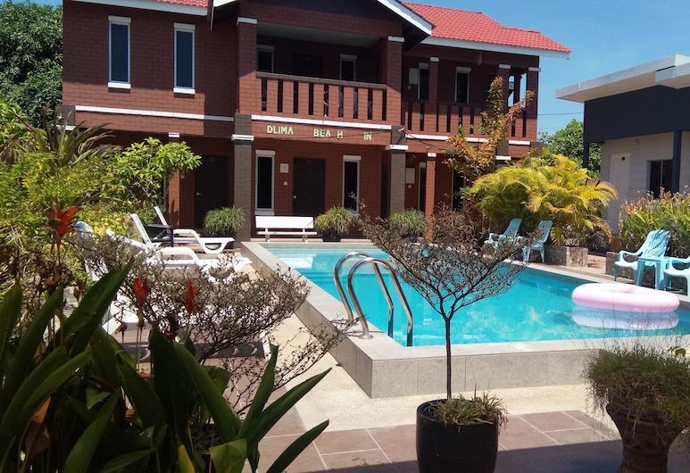 Dlima Beach Inn, Langkawi, Стандартный номер, для некурящих, вид на бассейн, Терраса/ патио
