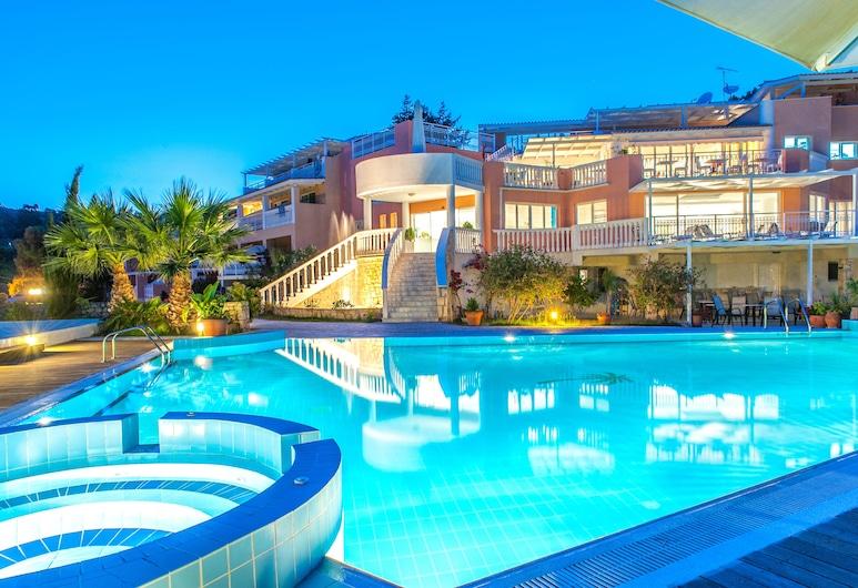 Gerakas Belvedere Hotel & Luxury Suites, Ζάκυνθος, Πρόσοψη ξενοδοχείου - βράδυ/νύχτα
