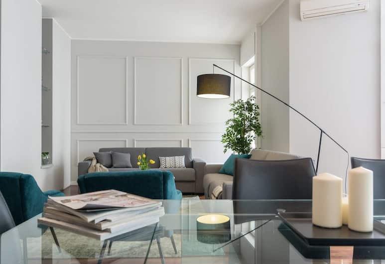 閃亮布雷拉辛頓酒店, 米蘭, 公寓 (3 Bedrooms), 客廳