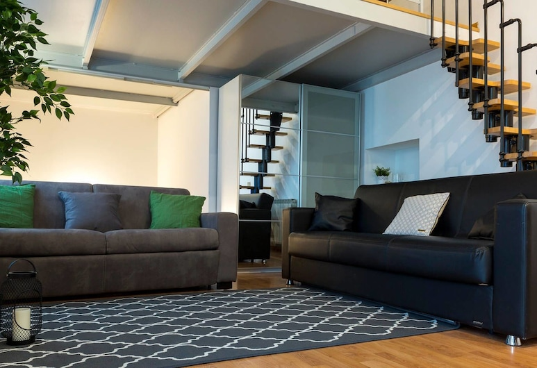 Altido Crocetta Loft Set 1, Milano, Appartamento (2 Bedrooms), Area soggiorno