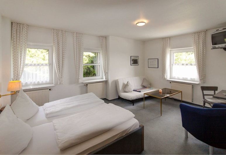 Hotel Deutscher Flieger, גרספלד, חדר קומפורט זוגי, ללא עישון, חדר אורחים