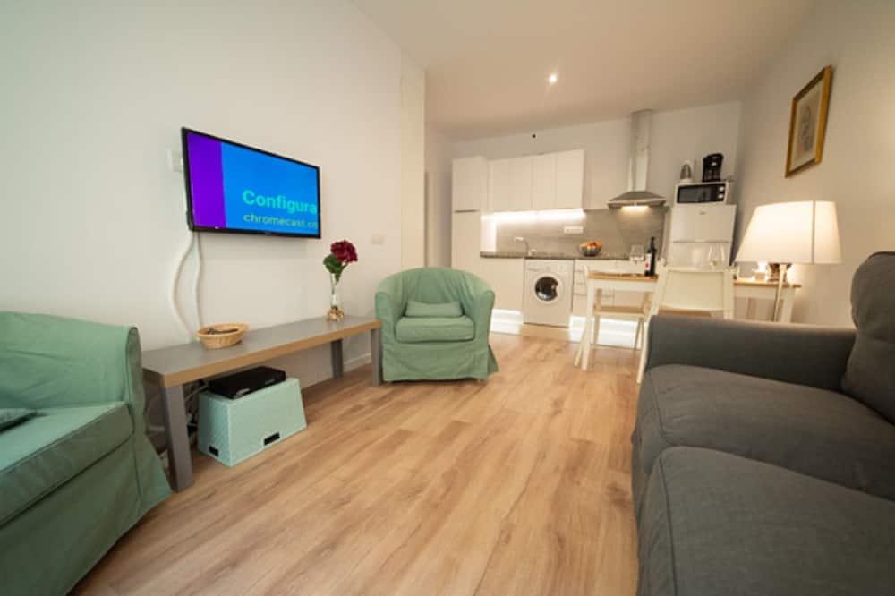 Apartamento, 1 Quarto - Sala de Estar