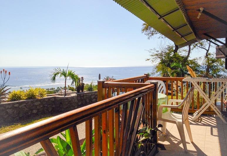كاب سوليل, سانت ليو, منزل صغير - غرفة نوم واحدة - بمنظر للبحر, تِراس/ فناء مرصوف
