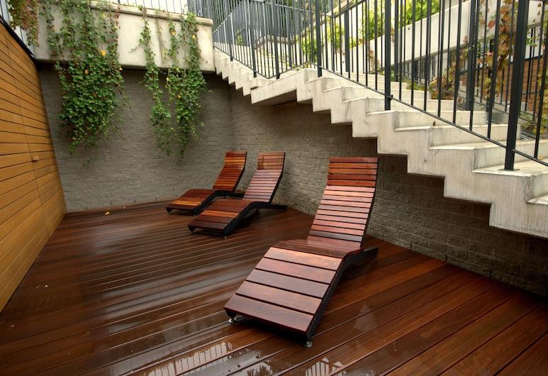 IRS ROYAL APARTMENTS  Bursztynowa, Gdansk, Terrasse/veranda