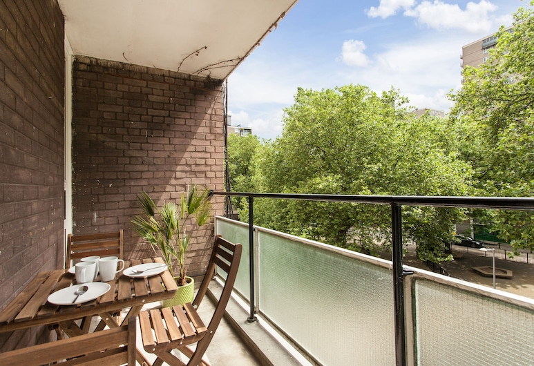 Regents Park & Euston 1 Bedroom Apartment, London, Balkon