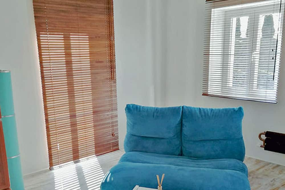 Basic-Apartment, Bergblick (cleaning fee included) - Wohnbereich
