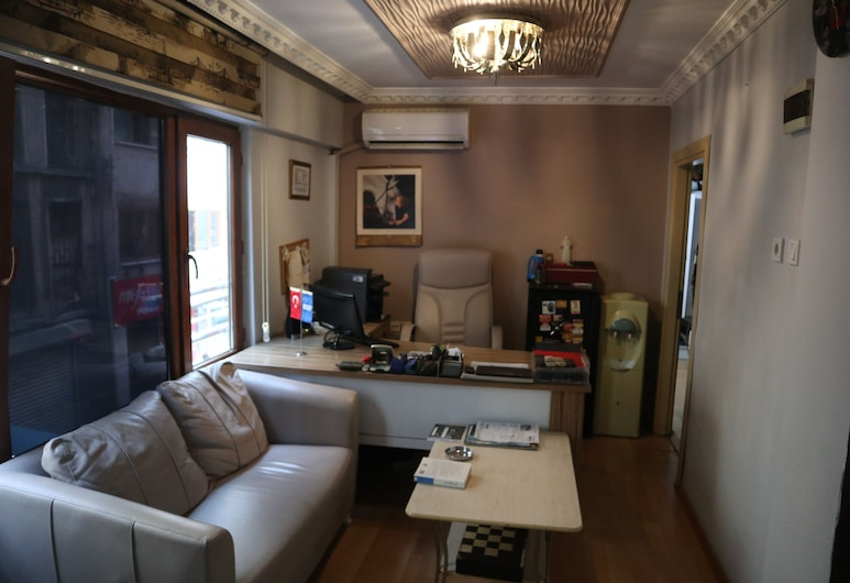 Taksim Pera Suites, Istanbul, Phòng đôi Tiêu chuẩn, 1 giường đôi, Hút thuốc, Quang cảnh thành phố, Khu phòng khách