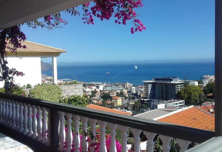 景觀海洋公寓飯店, 芳夏爾, 全景開放式客房, 海灣景觀 (3), 陽台