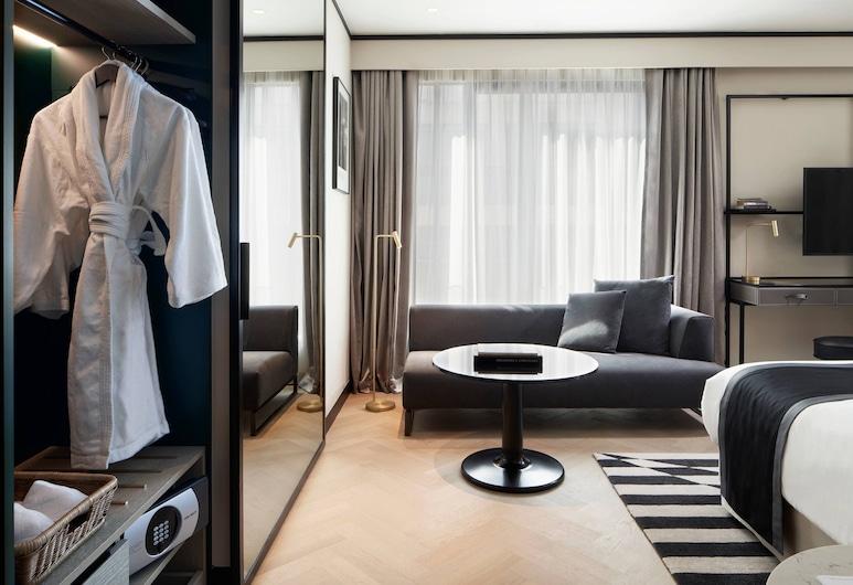 Academias Hotel, Autograph Collection, Atenas, Quarto executivo, 2 camas de solteiro, para não fumantes, Vista para a cidade, Vista (do quarto)