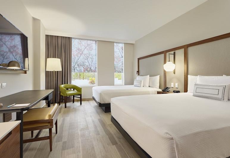 Fairfield Inn & Suites by Marriott Cancun Airport, Cancun, Pokój, 2 łóżka podwójne, dla niepalących, Pokój