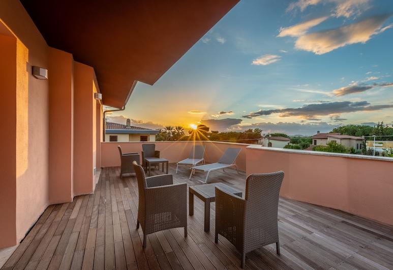 Le Terrazze di Bellavista, Quartu Sant'Elena, Terrasse/veranda