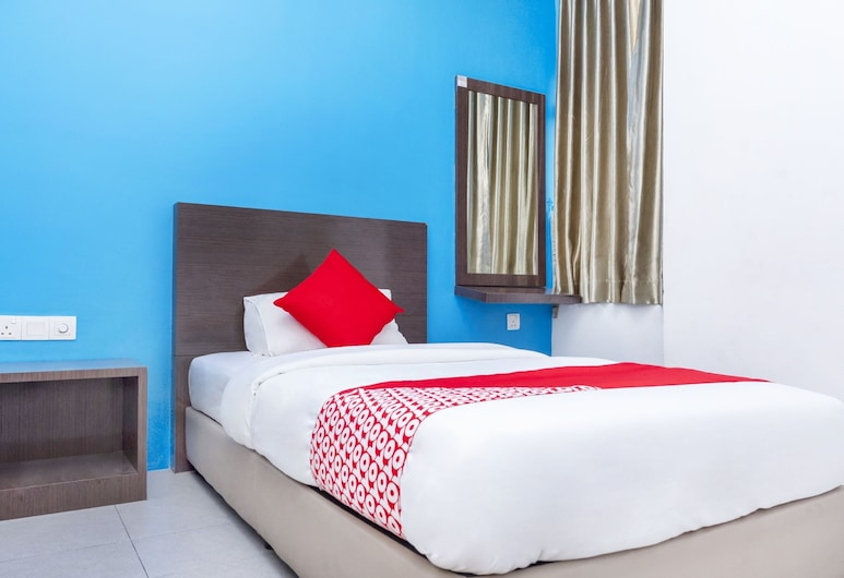 OYO 705 Golden Pearl Hotel, Batu Pahat, Standard Single Room, 1 Twin Bed, Non Smoking, Guest Room