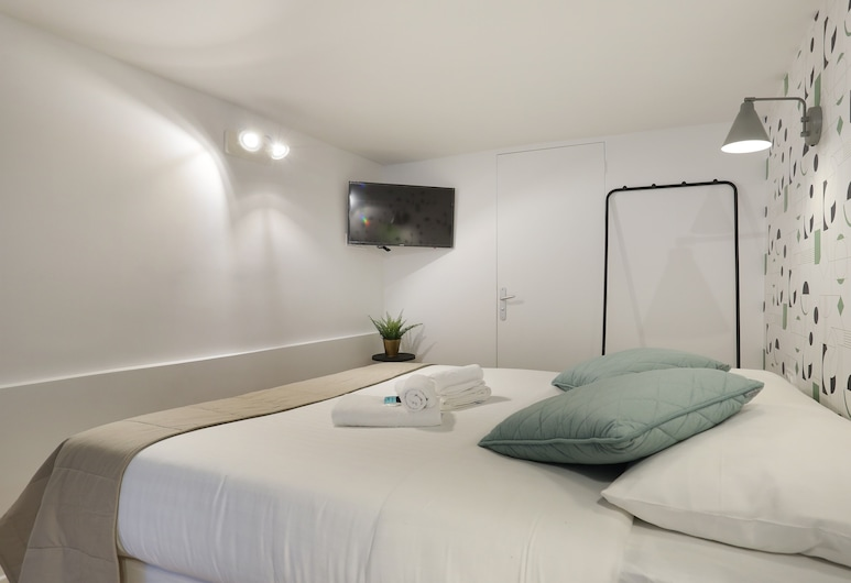 克雷里開放式公寓酒店, 巴黎, 開放式客房, 獨立浴室, 庭園景, 客房