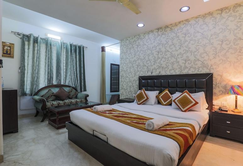The Hermitage by Cosy Hotels, Yeni Delhi, Executive Oda, 1 En Büyük (King) Boy Yatak, Oda