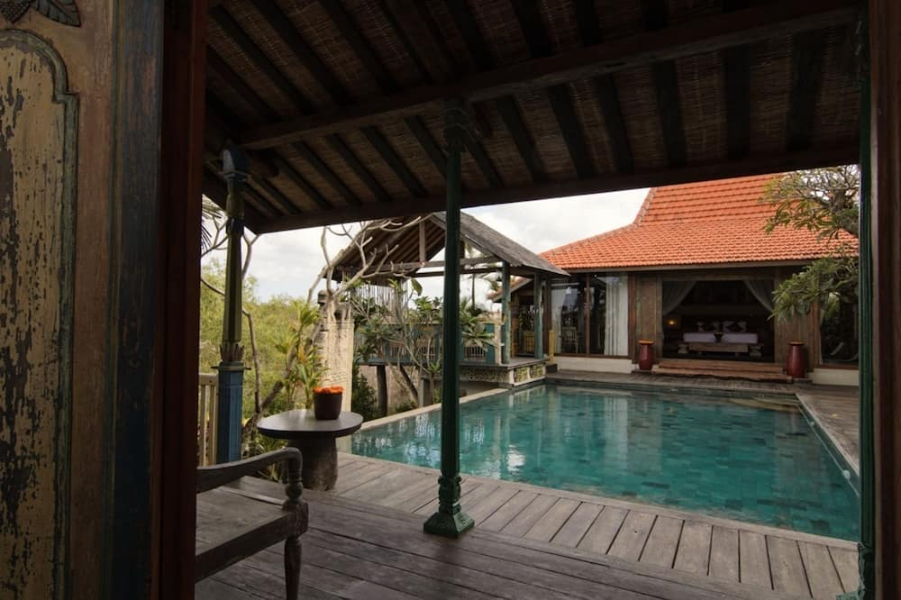 Villa, 1 Queen Bed, Non Smoking, Pool View - Private pool