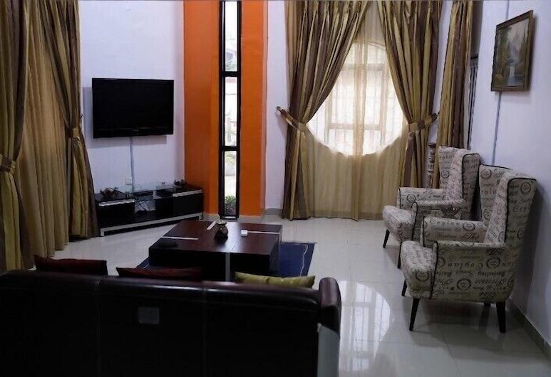 阿什蘭全球飯店, 拉各斯, 公寓, 4 間臥室, 非吸煙房, 客廳