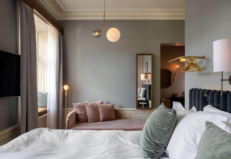 Hotel Frantz, BW Premier Collection, Stokholmas, Liukso klasės kambarys, 1 labai didelė dvigulė lova ir sofa-lova, Nerūkantiesiems (with Sofabed), Svečių kambarys