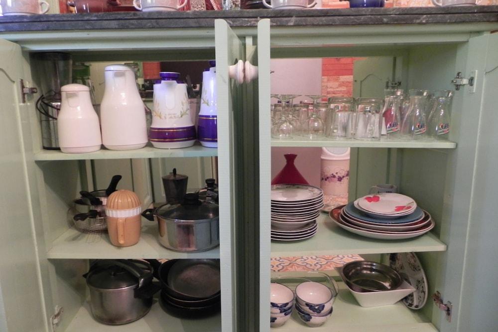 Delte kjøkkenfasiliteter
