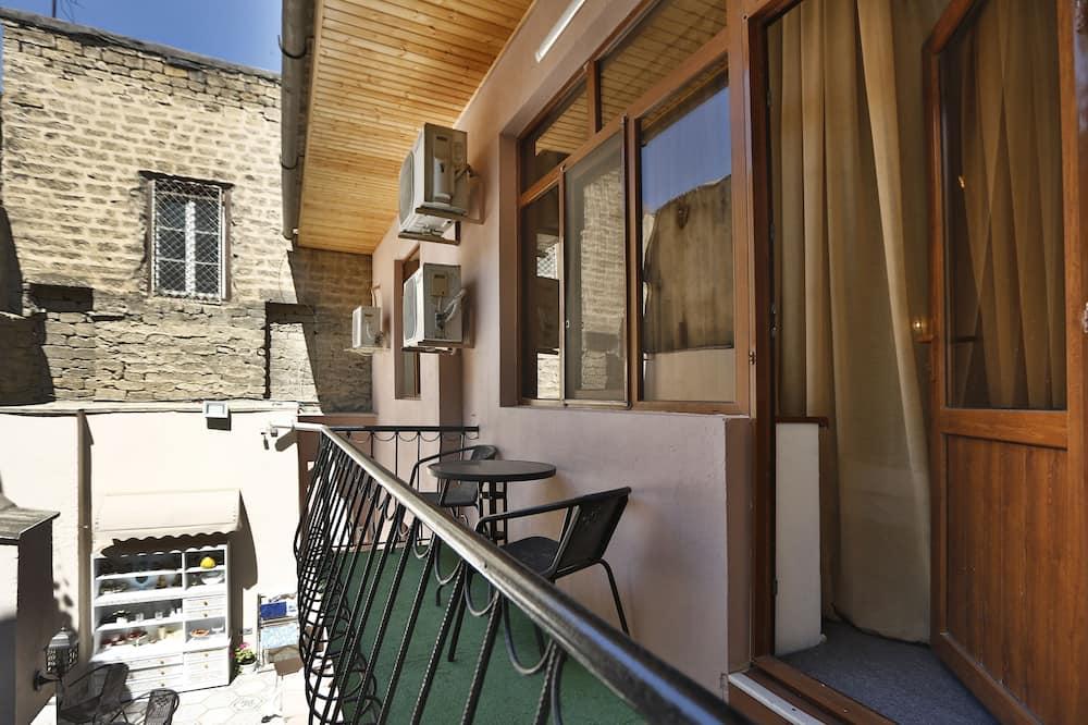 Liukso klasės dvivietis kambarys, balkonas - Vaizdas iš balkono