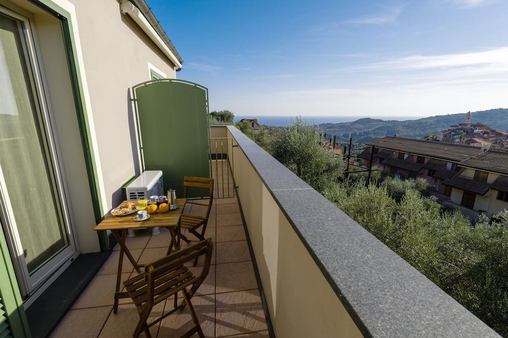 Apartment, 1 Double Bed with Sofa bed, Sea View (Gloria del Mare) - Balcony