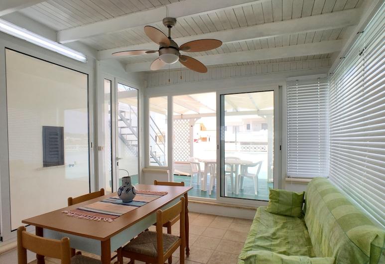 Bilocale Poseidon tra centro e spiaggia, Ugento, Apartment, 1 Bedroom, Living Area